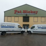 Pat Hickey Delivery Vans